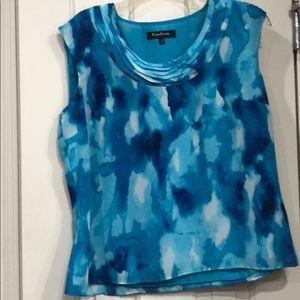 Evan Picone sleeveless blouse
